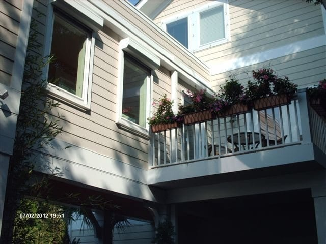 Lexan for Hurricane Protection on a Home in Wilmington